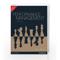 Performance Management, 3e by Aguinis Book-9789332518155