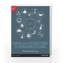 Data and Computer Communications, 9e by Stallings Book-9789332518865