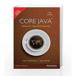 Core Java, Volume II: Advanced Features, 9e by Horstmann Book-9789332518896