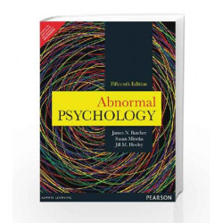 Abnormal Psychology, 15e by Carson / Butcher / Mineka / Hooley Book-9789332518988