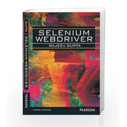 Selenium WebDriver, 1e by Gupta Book-9789332526297