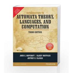 Introduction to Automata Theory, Languages and Computation - Anna University by John E. Hopcroft Book-9789332535862