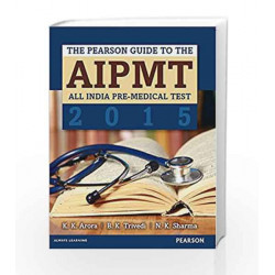 The Pearson Guide to the AIPMT 2015 by K.K. Arora Book-9789332537842