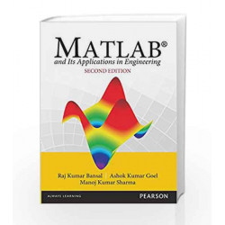 MATLAB and its Applications in Engineeri by Bansal/Goel/Sharma Book-9789332542099