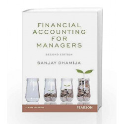 Financial Accounting for Managers 2e by Dhamija Book-9789332543591