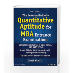 Quantitative Apt for MBA Entrance by Khattar Book-9789332546981