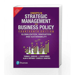 Concepts in Strategic Management and Bus by Wheelen/Kansal Book-9789332548954