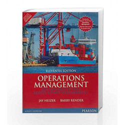 Operations Management 11/e (2 colors) by Heizer Book-9789332548985