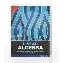 Linear Algebra by Friedberg / Insel / Spence Book-9789332549647
