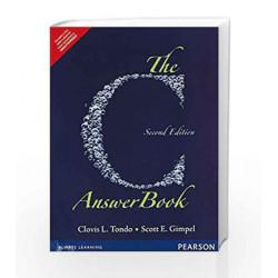 The C Answer Book by Tondo Book-9789332549739