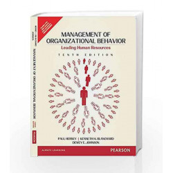 Management of Organizational Behavior by Hersey/ Blanchhard /Johnson Book-9789332549852