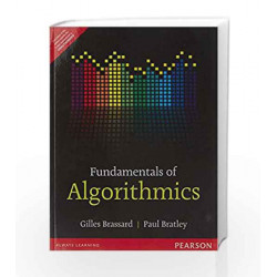 Fundamentals of Algorithmics by Brassard / Bratley Book-9789332549999
