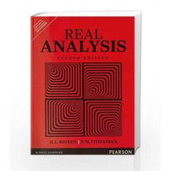 Real Analysis by Royden Book-9789332551589