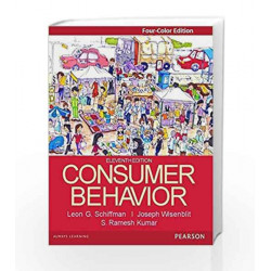 Consumer Behaviour 11/e (4-Colour) by Schiffman/ Kumar Book-9789332555099