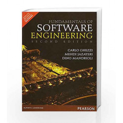 Fundamentals of Software Engineering 2/ by Ghezzi Book-9789332555396