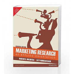 Marketing Research 7/e by Malhotra/Dash Book-9789332555693
