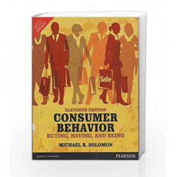 Consumer Behaviour Buying Having and Bei by Solomon Book-9789332557468