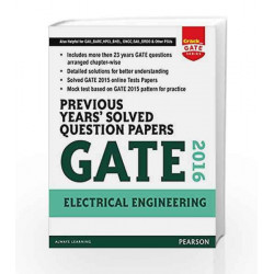 Previous Years\' Solved Question Papers GATE 2016 Electrical Engineering by Pearson Book-9789332559288