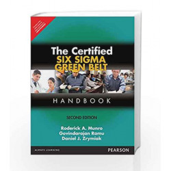 The Certified Six Sigma Green Belt Handb by Roderick A. Munro/Daniel Zrymiak Book-9789332559394