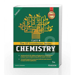 IIT Foundation Chemistry Class 9 by Trishna\'s Book-9789332568617