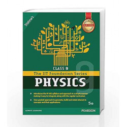 IIT Foundation Physics Class 9 by Trishna\'s Book-9789332568655