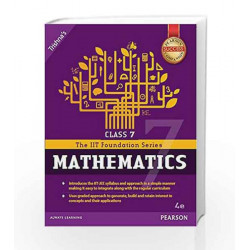 IIT Foundation Maths Class 7 by Trishna\'s Book-9789332568679