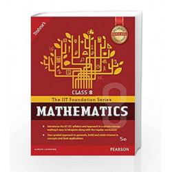 IIT Foundation Maths Class 8 by Trishna\'s Book-9789332568686