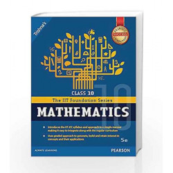 IIT Foundation Maths Class 10 by Trishna\'s Book-9789332568709