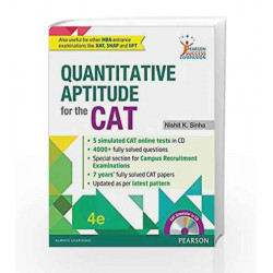 Quantitative Aptitude for the CAT by D. L. PRESTON Book-9789332570016