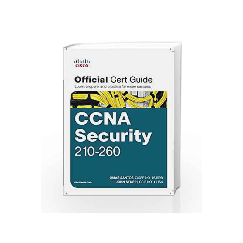 CCNA Security 210-260 Official Cert Guide By -Buy Online
