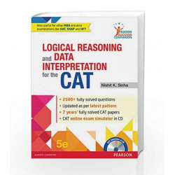Logical Reasoning and Data Interpretation for the CAT by BEGAMUDER RD EXTRA HIGH VOLTAG Book-9789332571211
