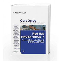 Red Hat RHCSA/RHCE 7 Cert Guid by Van Vugt Book-9789332571778