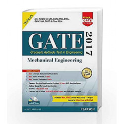 GATE Mechanical Engineering 2017 by Trishna\'s Book-9789332571853