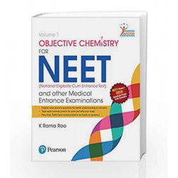 Objective Chemistry for NEET 2016 Vol 1 by Rao Book-9789332575424