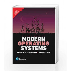 Modern Operating Systems 4e by Tanenbaum Book-9789332575776