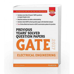Gate Prev Yrs\' EE 2017 by Pearson Editiorial Book-9789332576056
