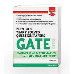 Gate Prev Yrs\' EM & GA 2017 by Pearson Editiorial Book-9789332576070