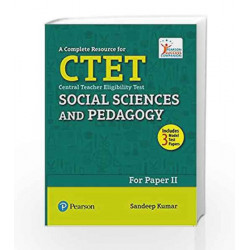 A Complete Resource for CTET: Social Science and Pedagogy by Sandeep Kumar Book-9789332577428