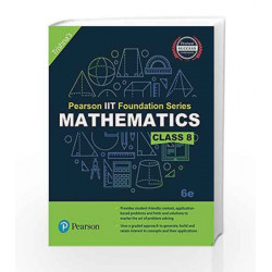 Pearson IIT Foundation Maths Class 8 by Trishna\'s Book-9789332579002