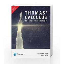 Thomas\' Calculus, 13e by RADHAKRISHNAN Book-9789332582040