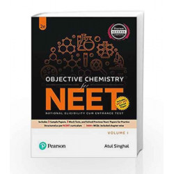 Objective Chemistry Vol. 1 for NEET by A K Singhal Book-9789332586208