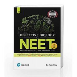 Objective Biology for NEET, 2e by Dr. Rajiv Vijay Book-9789332586215