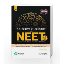 Objective Chemistry Vol. 2 for NEET by A K Singhal Book-9789332586222