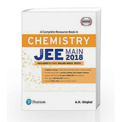 A Complete Resource Book for JEE Main 2018: Chemistry by BARAH Book-9789332586390