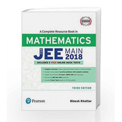 A Complete Resource Book for JEE Main 2018: Mathematics by Dinesh Khattar Book-9789332586413
