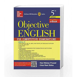Objective English for Competitive Examination by SUZANNE Book-9789332901773