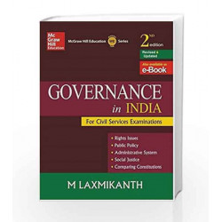 Governance in India by SEDRA & SMITH Book-9789339204785