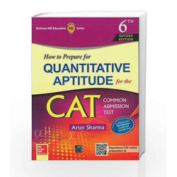 How to Prepare for Quantitative Aptitude for CAT (Old edition) by VERMA S K & SAHAI R N Book-9789339205126