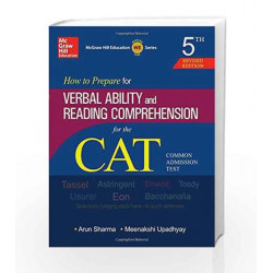How to Prepare for Verbal Ability and Reading Comprehension for CAT by VIDYARTHI Book-9789339205133