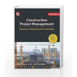 Construction Project Management by Chitkara Book-9789339205447